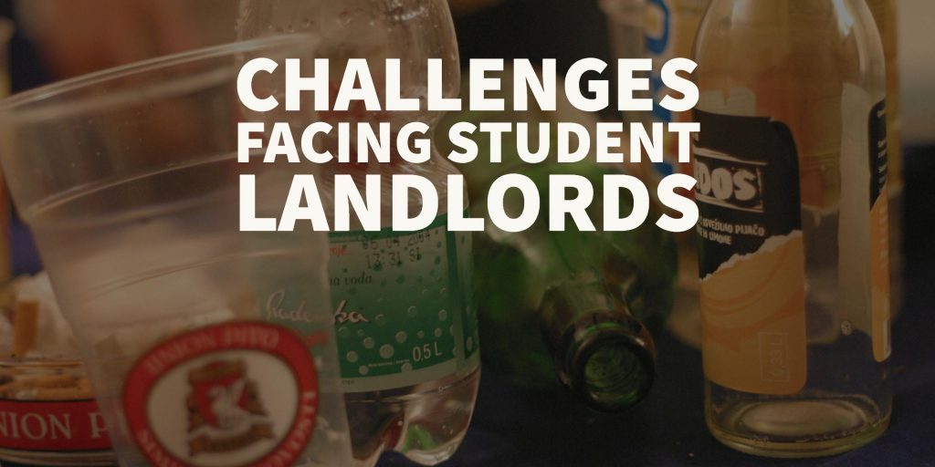 student landlords challenges